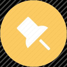 location, locator, map, marker, navigational, pin, push pin icon