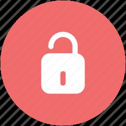 lock, lock open, lock unlock, padlock, security, unlock icon