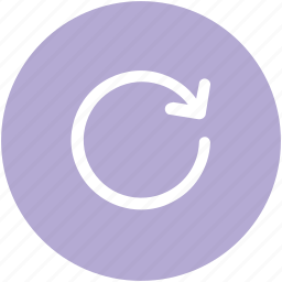 arrow circle, refill, refresh, reload, repeat, rotation, web element icon
