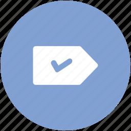 accept, check sign, confirm, correct, ok, right, tick icon