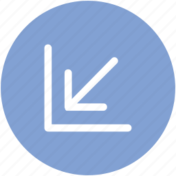 arrow, direction, gauge, hint, indicator, pointer icon