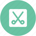 cutting tool, edit, scissor, scissor symbol, tool, utensil, work tool icon
