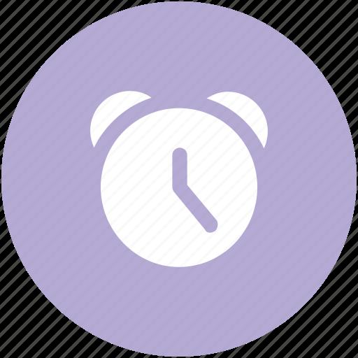alarm clock, alert, clock, timekeeper, timepiece, timer, watch icon