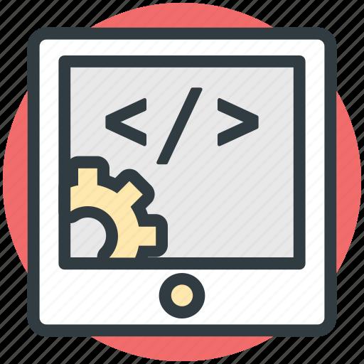 coding settings, html coding, html language, html setting, web coding icon