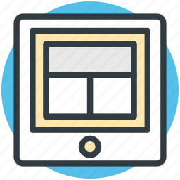 layout, tab layout, tab screen, webpage design, website design icon