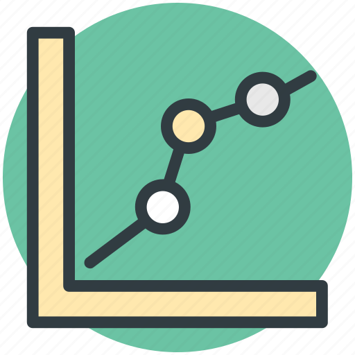 analytics screen, chart screen, graph report, graph screen, online graph icon