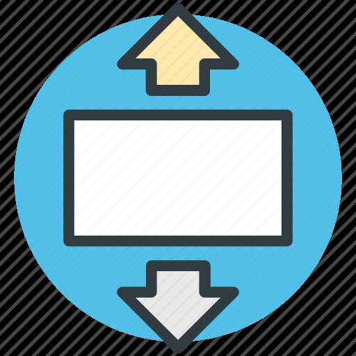 arrows, interchange, opposite arrows, revert, swap icon