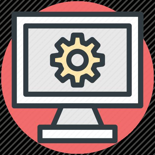 web development, web gear, web setting, website optimization, window gear icon