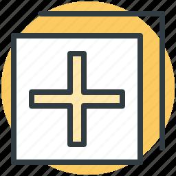 archive, copy, copy paste, layout, paper icon