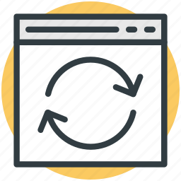 arrow, recycle, refresh, reload, reprocess icon