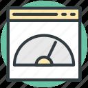 measuring, speedometer counter, speedometer, dashboard, speed