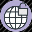 international security, globe with lock, globe and lock, globe security, universal security