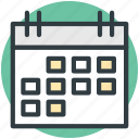 calendar, daybook, task frame, wall calendar, yearbook icon