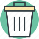 delete, dustbin, remove, trash, trashcan icon