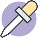 chemical dropper, color picker, dropper, laboratory tool, pipette icon
