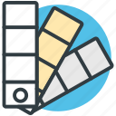 docs, archive files, documents, paint swatch, data files icon
