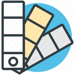 archive files, data files, docs, documents, paint swatch icon