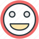 emoticon, emotion, happy face, character, smiley face icon