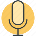 recording mic, mic, loud, microphone, radio mic icon