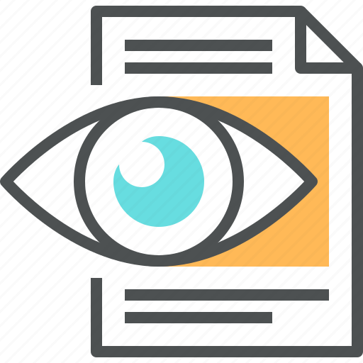 content, document, file, project, review, testing, usability icon