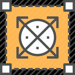 design, frame, framework, graphic, prototype, sketch, wireframe icon