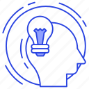 creativity, idea, imagination, innovation, inspiration icon