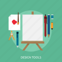 canvas, concept, created, design tools, development, making icon