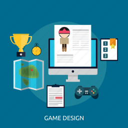 application, coding, concept, development, game, game design, software icon