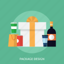 design, concept, package design, branding design, package icon
