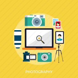 camera, concept, design, photo, photography, picture icon