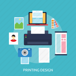 branding, concept, design, printing design icon