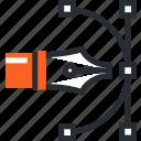 anchor, creative, design, graphic, illustration, shape, tool