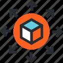app, social, freeware, set, share, shareware, connection icon