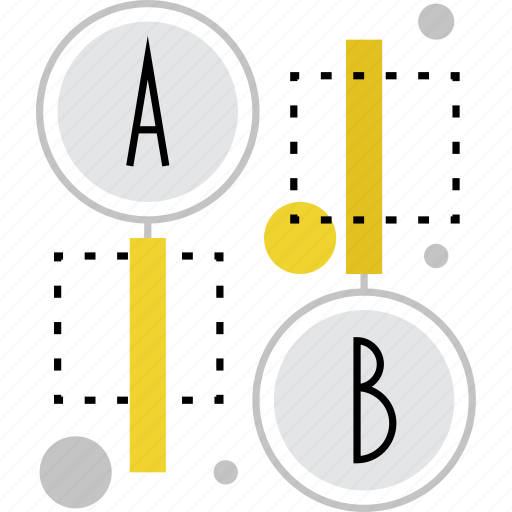 ab, experiment, marketing, randomize, research, testing, variants icon