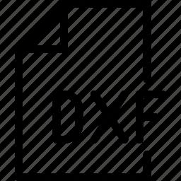 design, document, dxf, file, paper icon