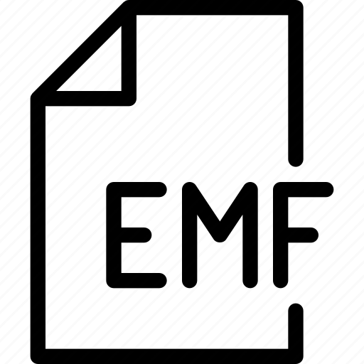 data, design, document, emf, file icon