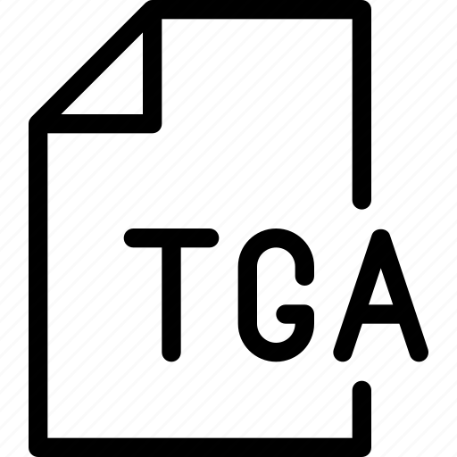 design, document, file, paper, tga icon