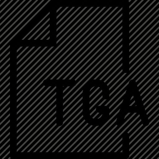 design, document, file, paper, tga icon