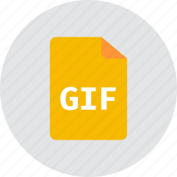 file, gif icon