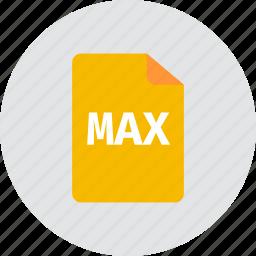 file, max icon