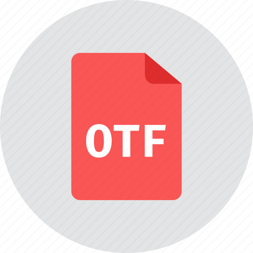 file, otf icon
