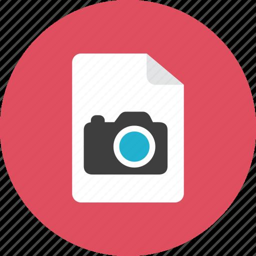 file, photo icon