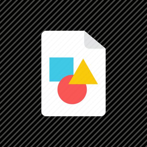 2, file, image icon
