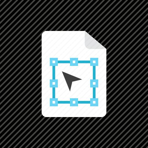 2, file, vector icon