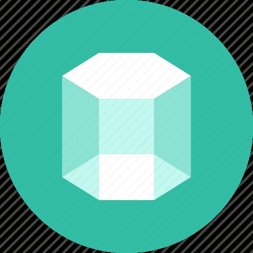3, prism icon