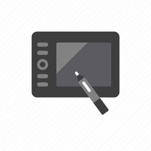 drawing, tablet icon