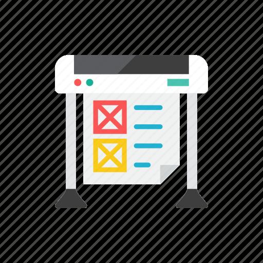 printer, pro icon