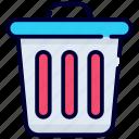 trash, delete, bin, recycle bin, remove, cancel, garbage