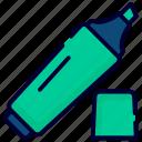 highlighter, tip pen, highlight, highlighter pen, marker, pen