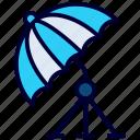 umbrella light, studio umbrella, umbrella, sunshade, parasol, canopy
